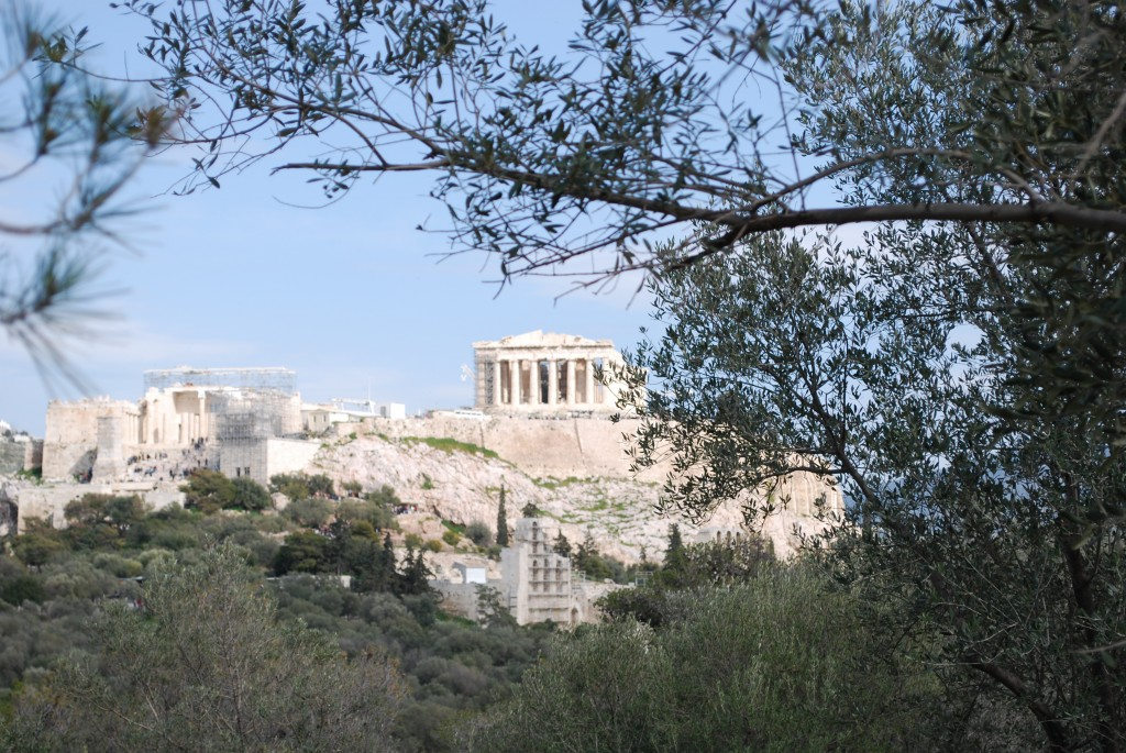 This very well could be the best view of the Acropolis.