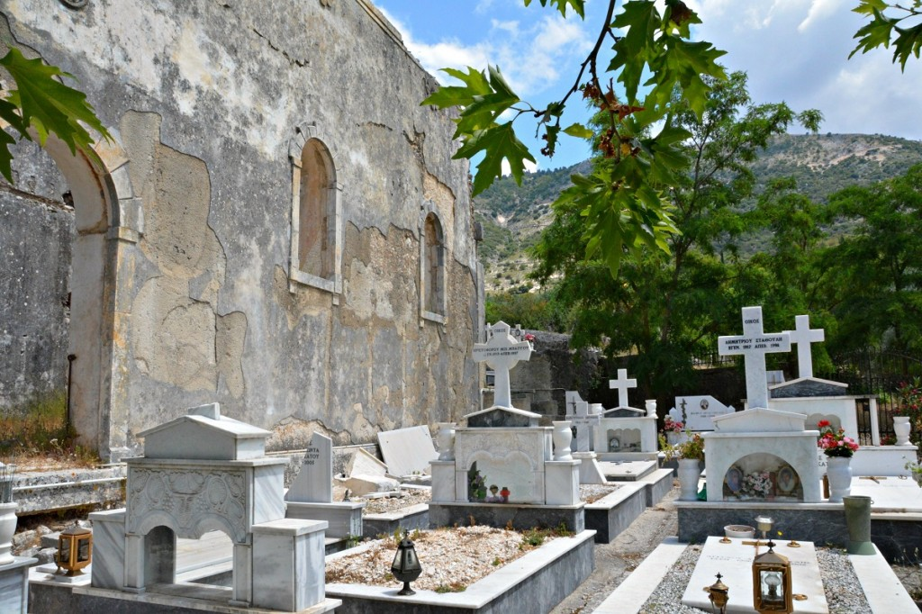 Abandoned earthquake villages of Kefalonia (1)