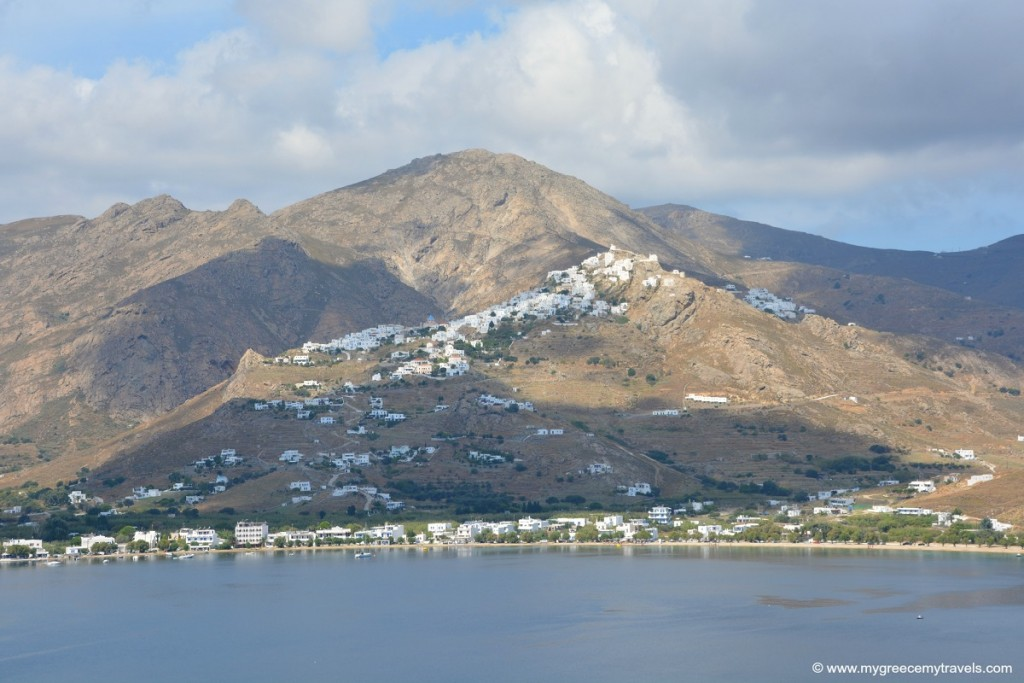 Chora of Serifos island, Greece.