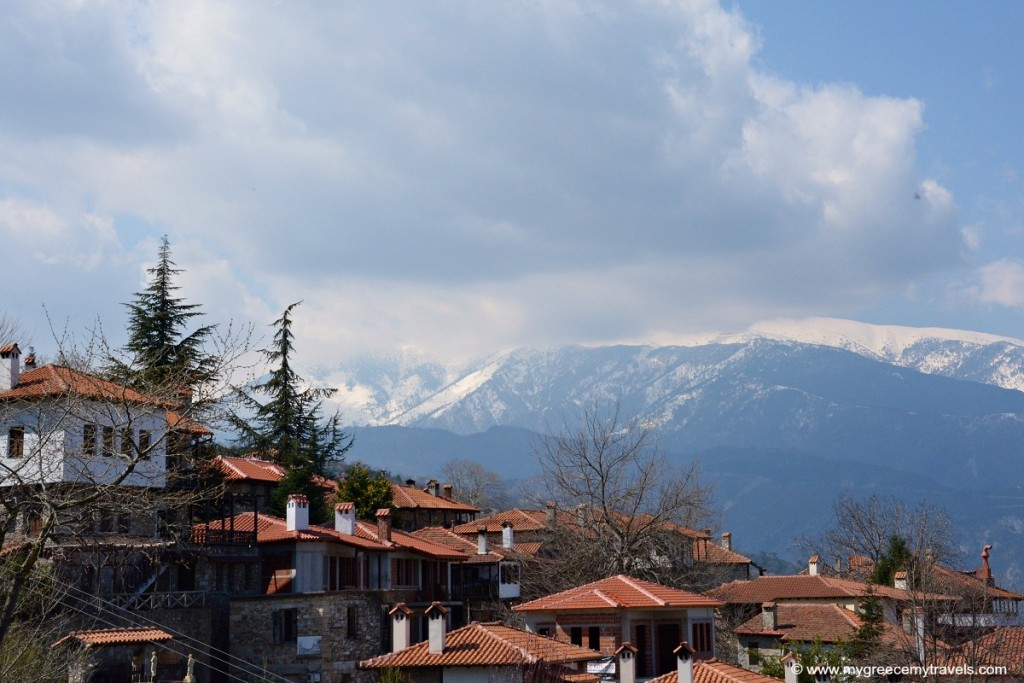 A beautiful mountain village in Pieria, northern Greece.