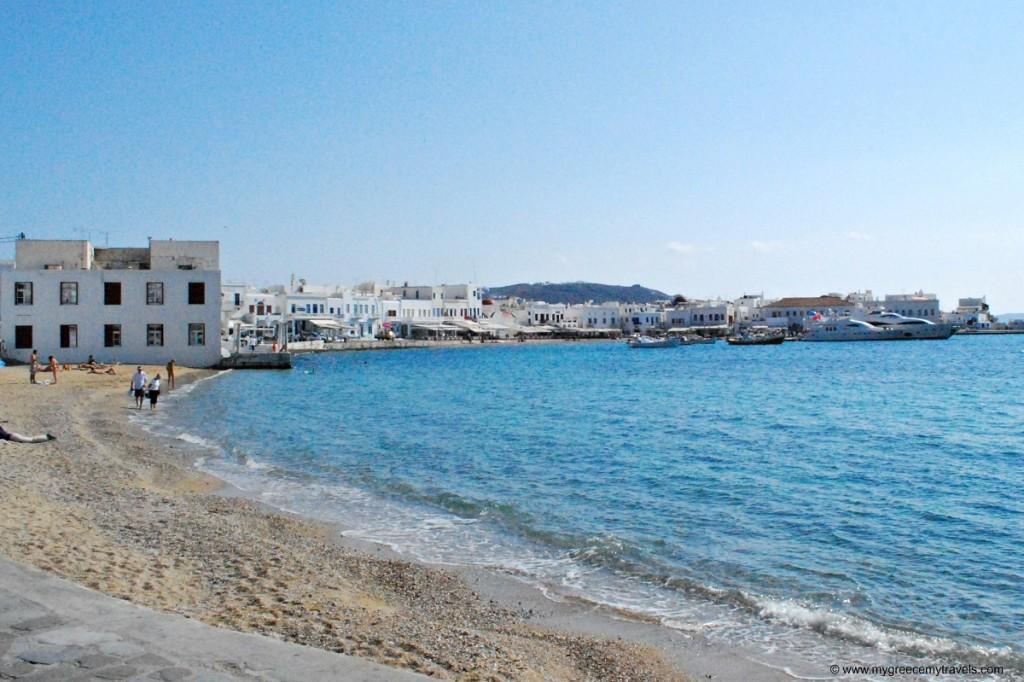 Mykonos Town beach (1)
