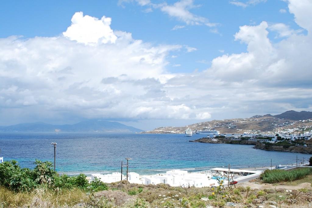 Mykonos Town beaches.