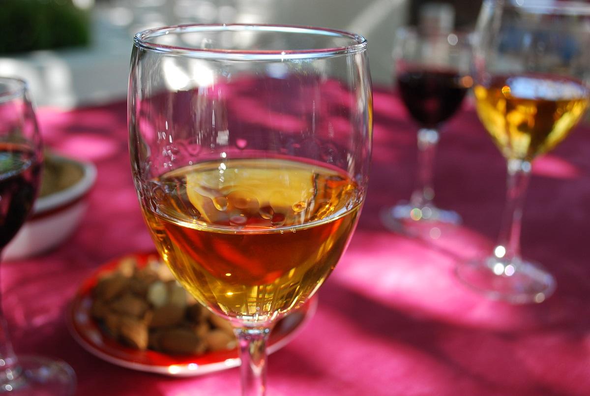 Santorini wines are really beautiful.