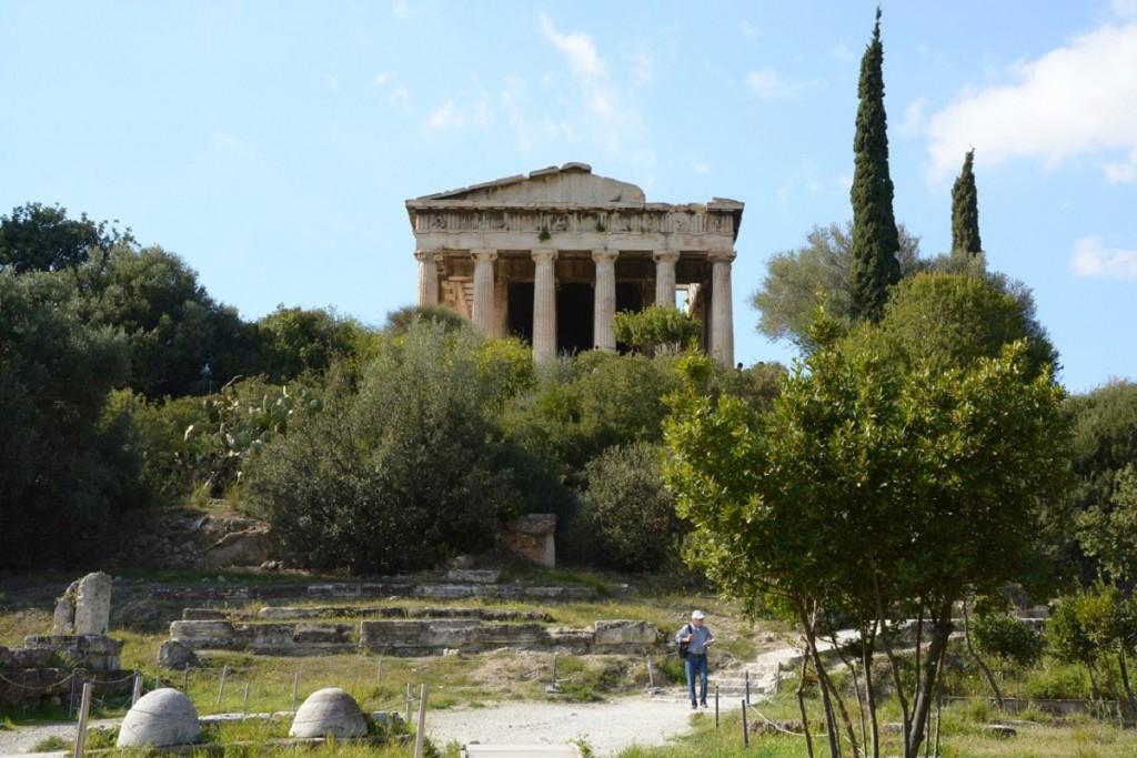 Thiseon.Temple of Hephaestus.