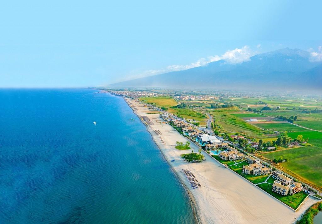 Summer photo of Olympus Riviera courtesy of Mediterranean Village hotel.