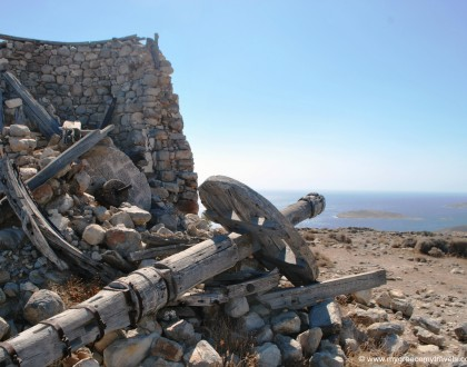 The Abandoned Windmills of Kimolos