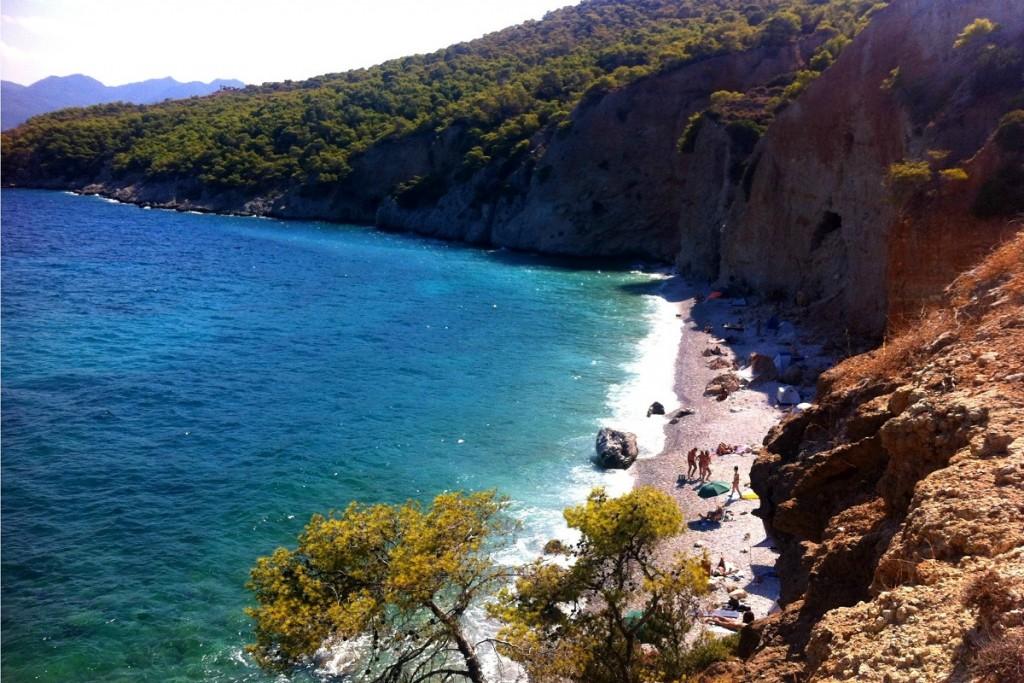 best beaches in Agistri