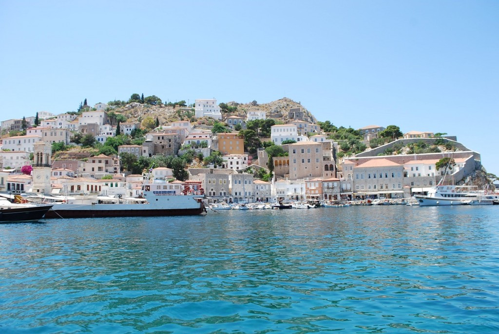 Hydra is captivating and near Athens.