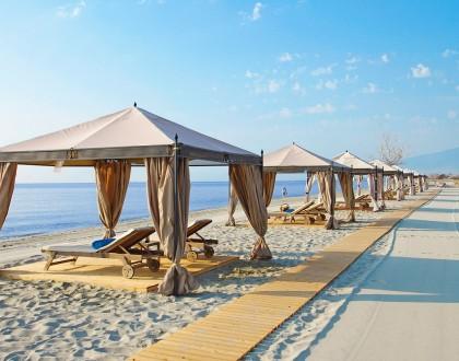 Mediterranean Village in Pieria: Beach Luxury