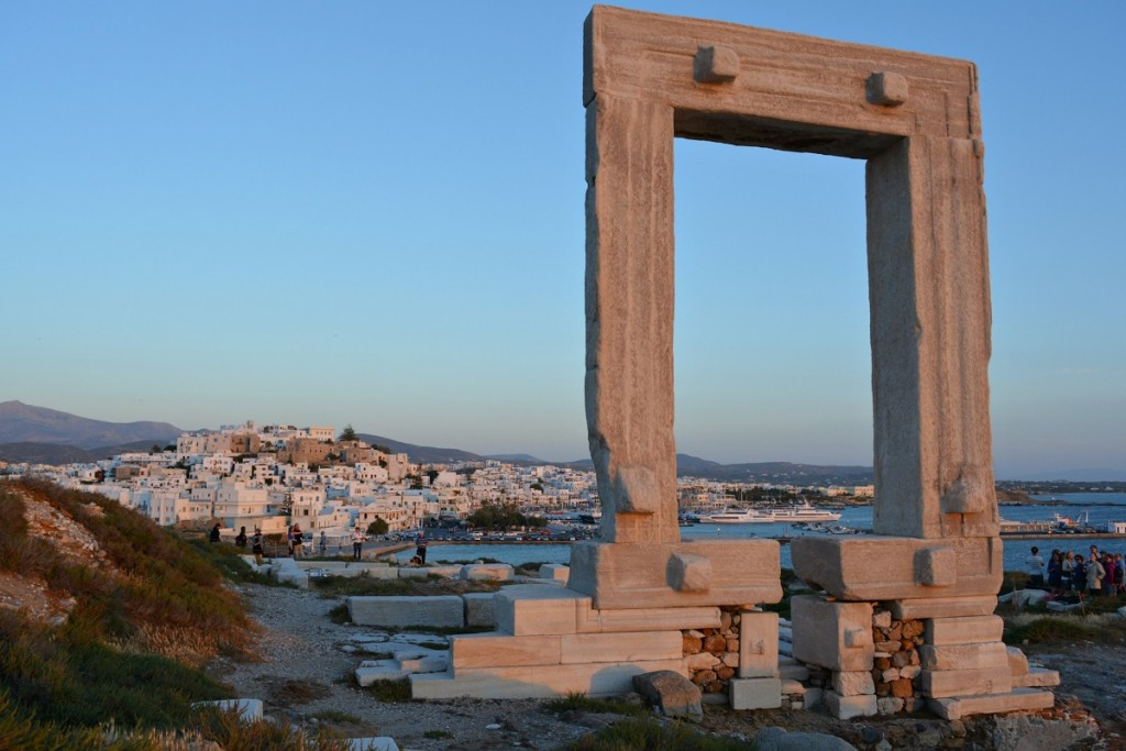 The Portara of Naxos.