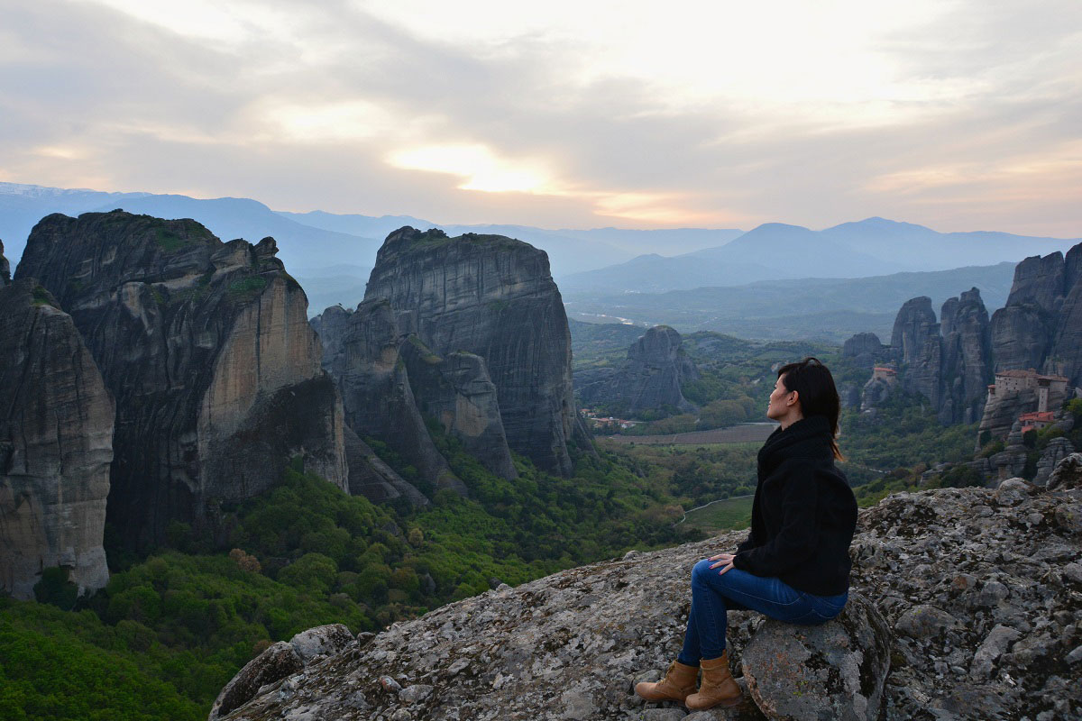 Sunset Meteora Tour