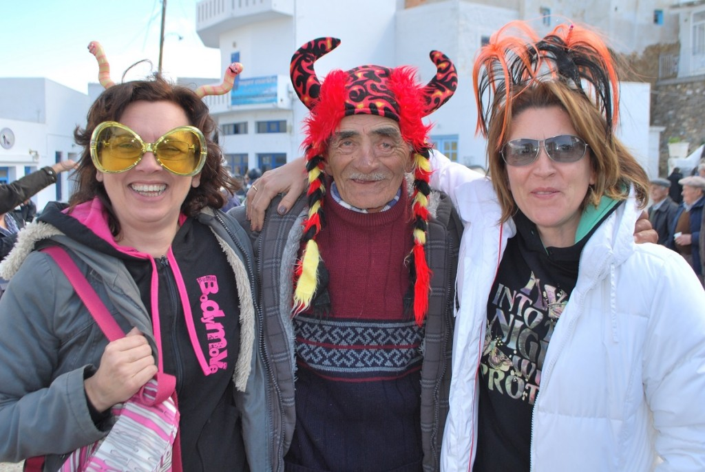 carnival in the Greek islands