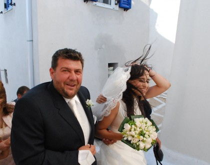 Photo Tour: Traditional Greek Island Wedding