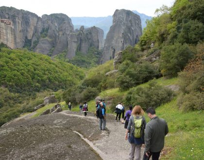 Go Hiking in Meteora