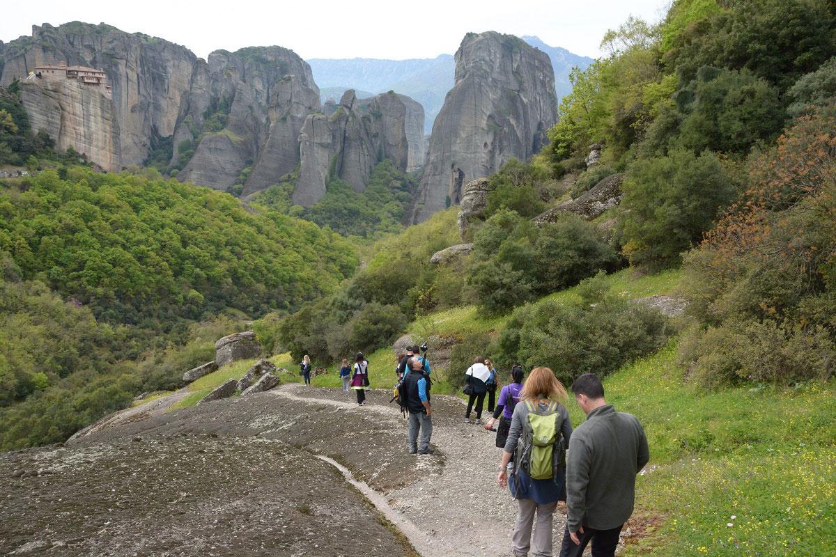 Go Hiking in Meteora