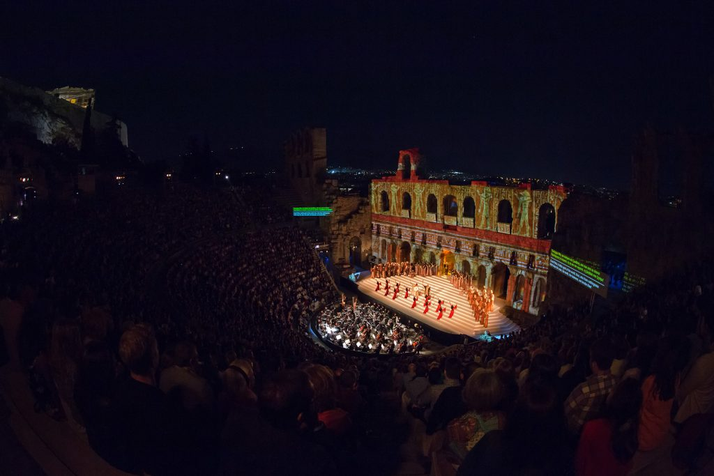 Odeon of Herodus Atticus Night at the Opera mygreecemytravels (1)