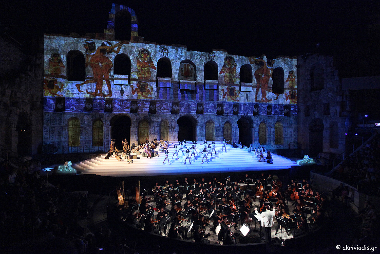 Night at the Opera: Odeon of Herodus Atticus