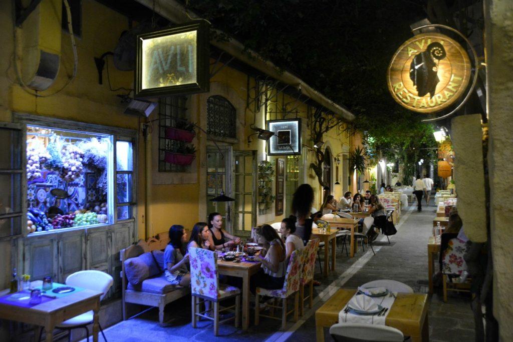 Avli Cretan Restaurant Rethymnon Crete (14)