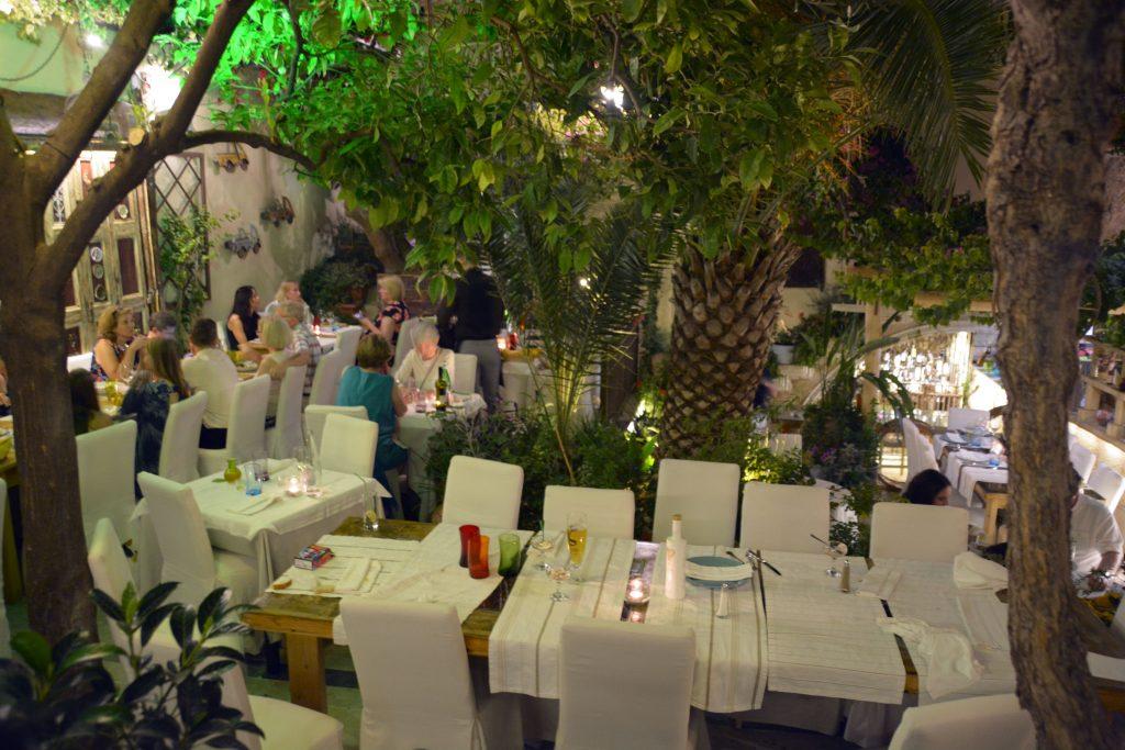 Avli Cretan Restaurant Rethymnon Crete (6)