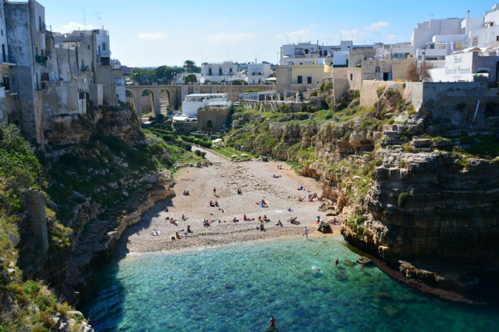 Cala Paura Beach_Things to Do in Polignano a Mare mygreecemytravels (42)