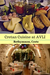 Cretan Dining at AVLI