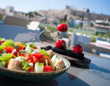 POINT a: Gourmet Greek Cuisine with a View