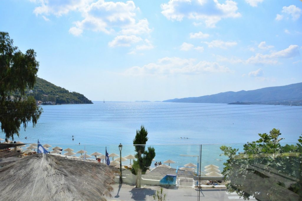 Best beach hotel on Poros