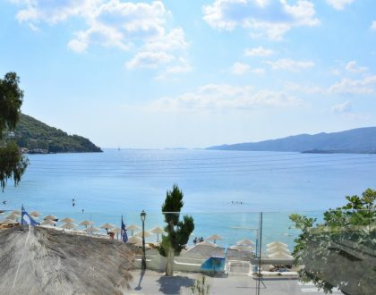 New Aegli Beach Hotel on Poros: Sea View Beauty
