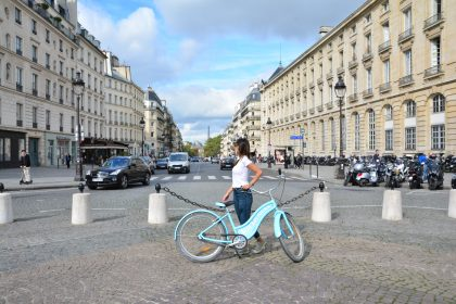 Blue Bike Tours: Bicycling in Paris