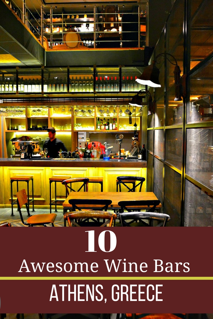 Top 10 Wine Bars in Athens - Travel Greece Travel Europe