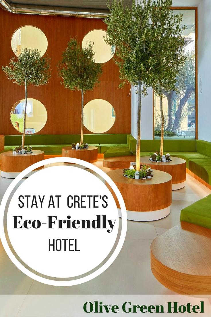 olive green hotel: eco-minded hospitality - travel greece travel