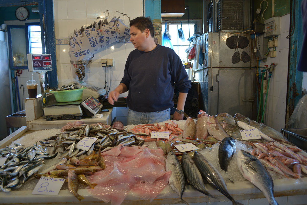 Fish market aegina travel greece travel europe for Closest fish market