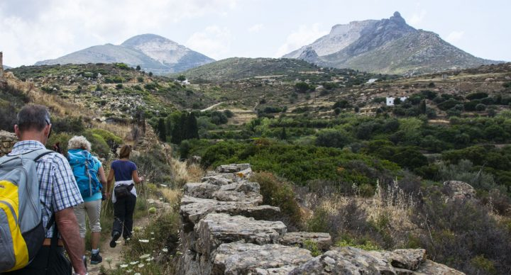 Hiking on Naxos: Seven Villages Trail