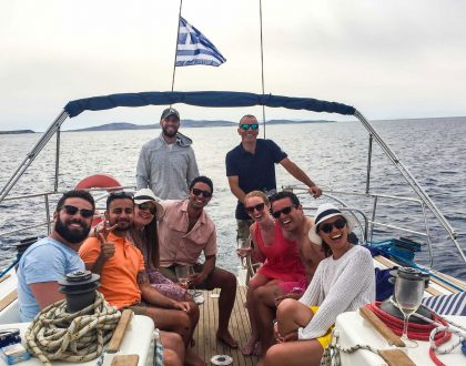 Sail Around Mykonos: Delos and Rhenia