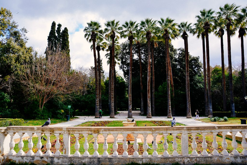 National Gardens of Greece