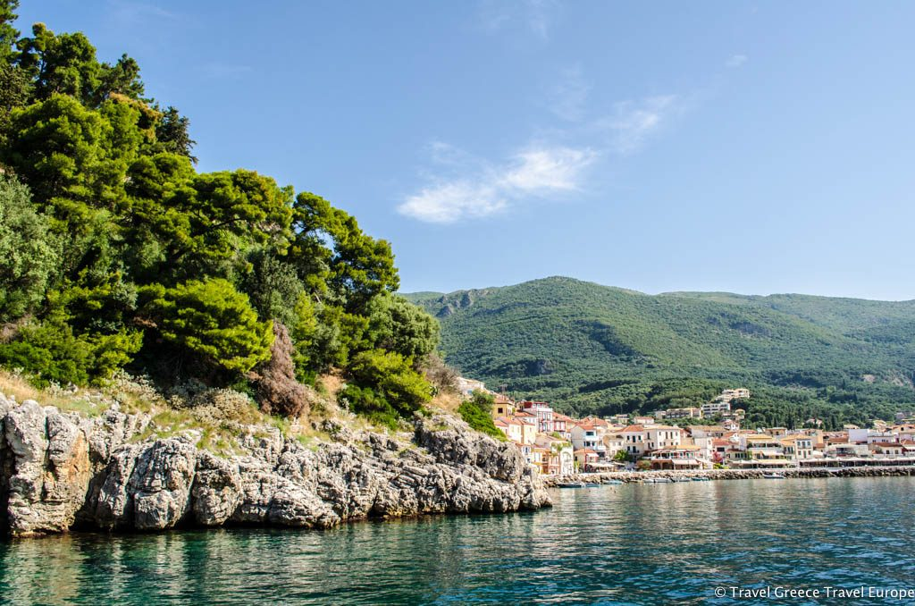Parga is situated in the Epirus province