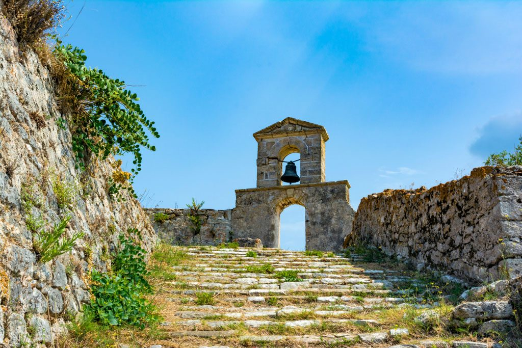 Agia Mavra Venetian Castle in Lefkada